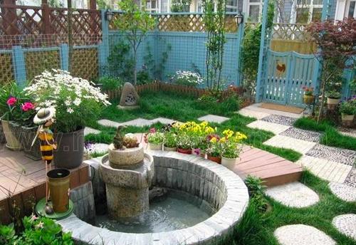 渝中私家别墅庭院设计