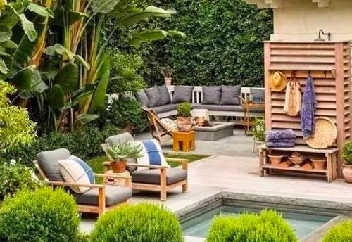 渝中私家庭院景观设计