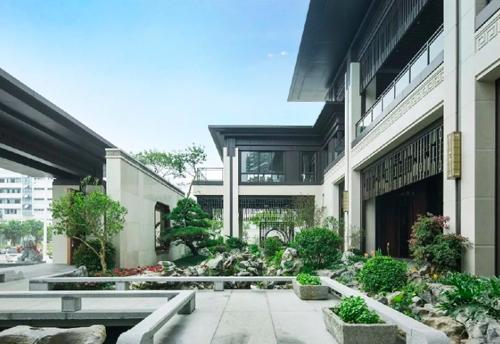 渝中别墅花园设计