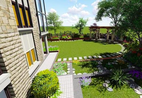 私家小花园设计
