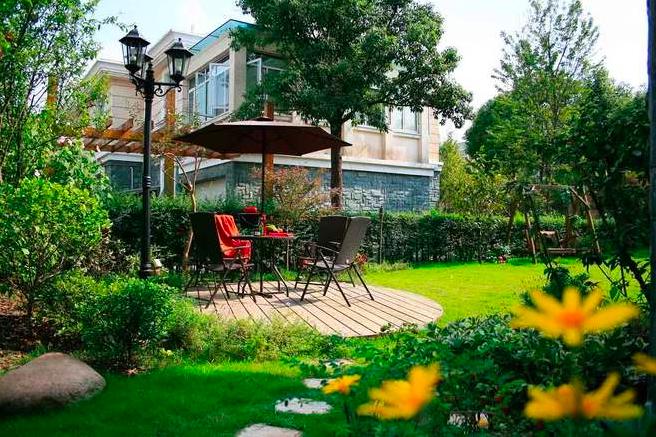 别墅花园景观设计的六个理念